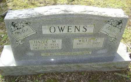 OWENS, HAZEL M. - Lawrence County, Arkansas | HAZEL M. OWENS - Arkansas Gravestone Photos