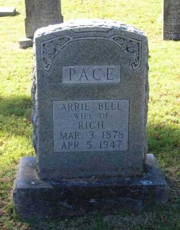 PACE, ARRIE BELL - Lawrence County, Arkansas | ARRIE BELL PACE - Arkansas Gravestone Photos