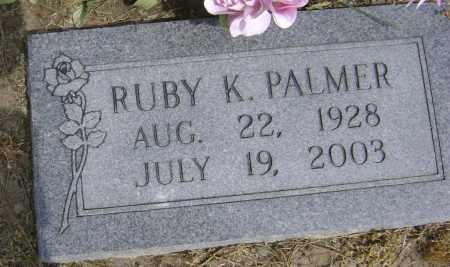 PALMER, RUBY K - Lawrence County, Arkansas | RUBY K PALMER - Arkansas Gravestone Photos