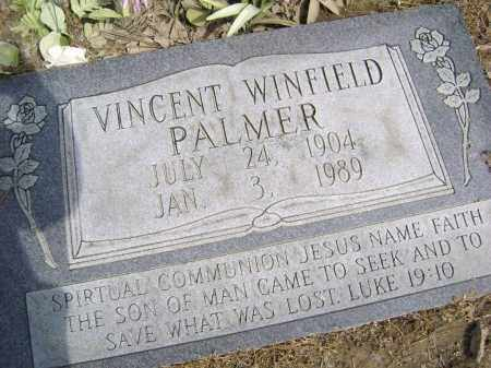 PALMER, VINCENT WINFIELD - Lawrence County, Arkansas | VINCENT WINFIELD PALMER - Arkansas Gravestone Photos