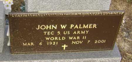 PALMER (VETERAN WWII), JOHN WESLEY - Lawrence County, Arkansas | JOHN WESLEY PALMER (VETERAN WWII) - Arkansas Gravestone Photos