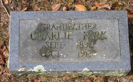 "PARK, CHARLES  ""CHARLIE"" - Lawrence County, Arkansas 