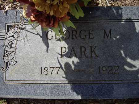 PARK, GEORGE M. - Lawrence County, Arkansas | GEORGE M. PARK - Arkansas Gravestone Photos