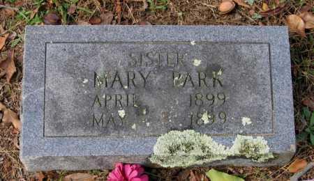 PARK, MARY - Lawrence County, Arkansas | MARY PARK - Arkansas Gravestone Photos