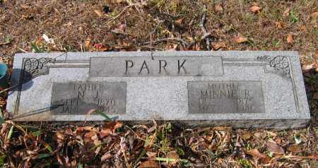 RATLIFF PARK, MINNIE - Lawrence County, Arkansas | MINNIE RATLIFF PARK - Arkansas Gravestone Photos