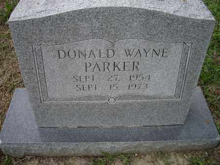 PARKER, DONALD WAYNE - Lawrence County, Arkansas | DONALD WAYNE PARKER - Arkansas Gravestone Photos