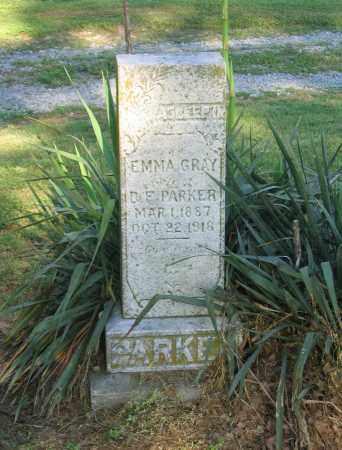 GRAY PARKER, EMMA - Lawrence County, Arkansas | EMMA GRAY PARKER - Arkansas Gravestone Photos