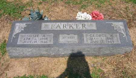 PARKER, GEORGE WASHINGTON - Lawrence County, Arkansas | GEORGE WASHINGTON PARKER - Arkansas Gravestone Photos