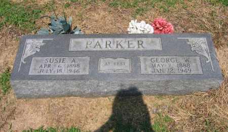 PARKER, SUSIE ARMINDA DAVIS KEITH - Lawrence County, Arkansas | SUSIE ARMINDA DAVIS KEITH PARKER - Arkansas Gravestone Photos