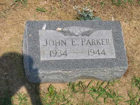 PARKER, JOHN EUGENE KEITH - Lawrence County, Arkansas | JOHN EUGENE KEITH PARKER - Arkansas Gravestone Photos