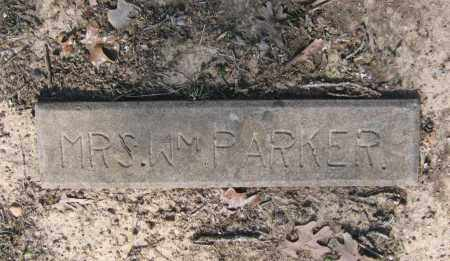 PARKER, MRS. WILLIAM - Lawrence County, Arkansas | MRS. WILLIAM PARKER - Arkansas Gravestone Photos