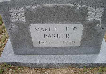 PARKER, MARLIN E. W. - Lawrence County, Arkansas | MARLIN E. W. PARKER - Arkansas Gravestone Photos
