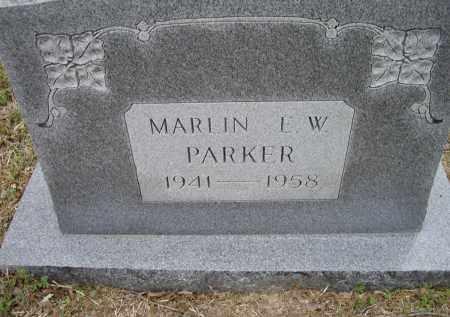 PARKER, MARLIN E. W. - Lawrence County, Arkansas | MARLIN E. W. PARKER - Arkansas Gravestone Photos