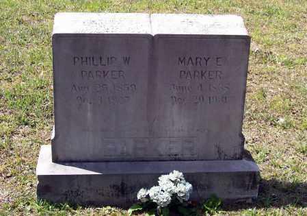 PARKER, PHILLIP W. - Lawrence County, Arkansas | PHILLIP W. PARKER - Arkansas Gravestone Photos
