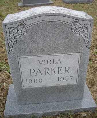 PARKER, VIOLA - Lawrence County, Arkansas   VIOLA PARKER - Arkansas Gravestone Photos