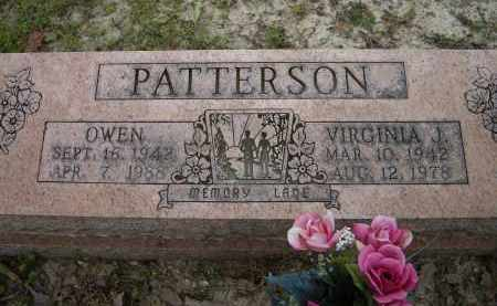 PATTERSON, VIRGINIA JANE - Lawrence County, Arkansas | VIRGINIA JANE PATTERSON - Arkansas Gravestone Photos