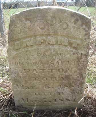 PATTON, INFANT SON - Lawrence County, Arkansas | INFANT SON PATTON - Arkansas Gravestone Photos