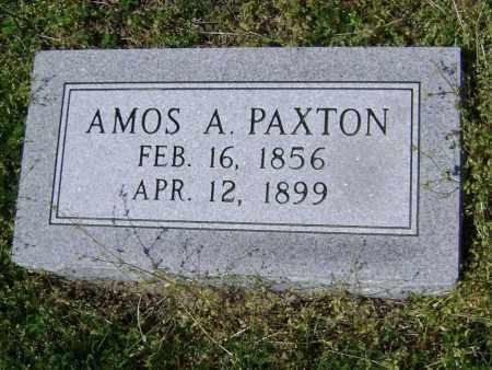 PAXTON, AMOS A - Lawrence County, Arkansas | AMOS A PAXTON - Arkansas Gravestone Photos