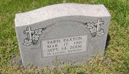 PAXTON, FARIS - Lawrence County, Arkansas | FARIS PAXTON - Arkansas Gravestone Photos