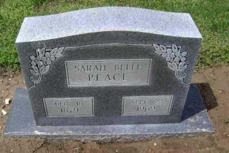 PEACE, SARAH BELLE - Lawrence County, Arkansas   SARAH BELLE PEACE - Arkansas Gravestone Photos
