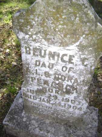 PEACOCK, BEUNICE GENIVIEVE - Lawrence County, Arkansas | BEUNICE GENIVIEVE PEACOCK - Arkansas Gravestone Photos
