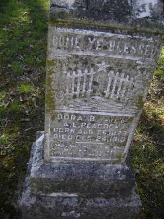 LITTLE PEACOCK, DORA P. BELLE - Lawrence County, Arkansas   DORA P. BELLE LITTLE PEACOCK - Arkansas Gravestone Photos