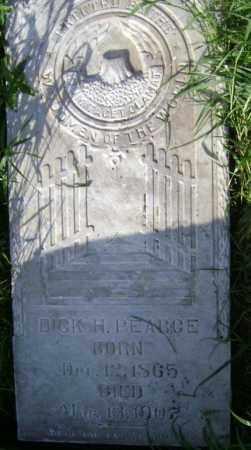 PEARCE, DICK H. - Lawrence County, Arkansas   DICK H. PEARCE - Arkansas Gravestone Photos