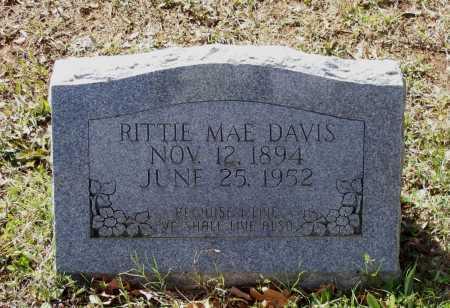 DAVIS, RITTIE MAE WEBB PEARSON - Lawrence County, Arkansas   RITTIE MAE WEBB PEARSON DAVIS - Arkansas Gravestone Photos