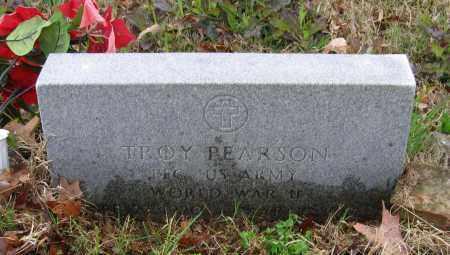 PEARSON (VETERAN WWII), TROY ELMER - Lawrence County, Arkansas | TROY ELMER PEARSON (VETERAN WWII) - Arkansas Gravestone Photos