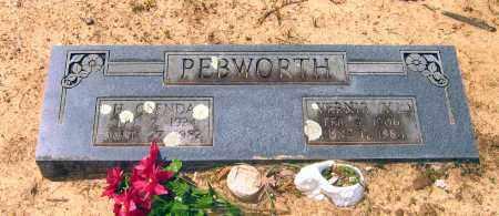 PEBWORTH, VERNIE LEE - Lawrence County, Arkansas | VERNIE LEE PEBWORTH - Arkansas Gravestone Photos