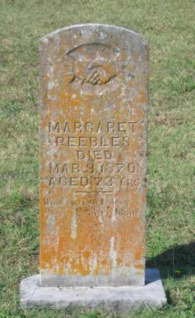 THROWER PEEBLES, MARGARET - Lawrence County, Arkansas | MARGARET THROWER PEEBLES - Arkansas Gravestone Photos