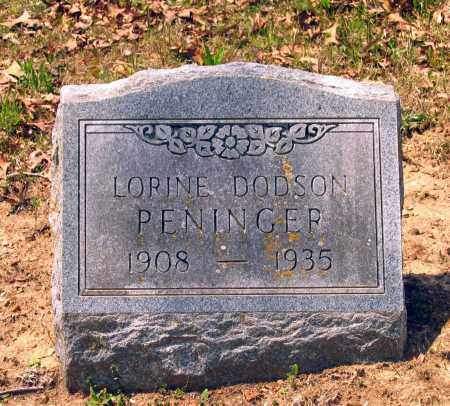 PENINGER, LORINE - Lawrence County, Arkansas | LORINE PENINGER - Arkansas Gravestone Photos
