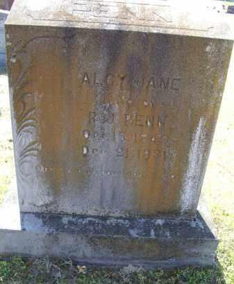 MASSEY PENN, ALCY JANE - Lawrence County, Arkansas   ALCY JANE MASSEY PENN - Arkansas Gravestone Photos