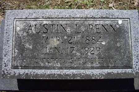 PENN, AUSTIN LONZO - Lawrence County, Arkansas   AUSTIN LONZO PENN - Arkansas Gravestone Photos