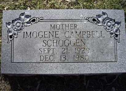 SCHOGGEN, IMOGENE MARIE CAMPBELL PENN - Lawrence County, Arkansas | IMOGENE MARIE CAMPBELL PENN SCHOGGEN - Arkansas Gravestone Photos