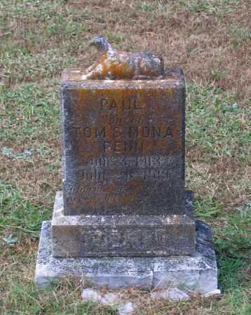 PENN, PAUL - Lawrence County, Arkansas | PAUL PENN - Arkansas Gravestone Photos