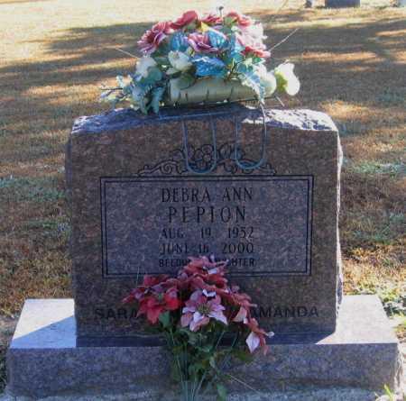 PEPION, DEBRA ANN - Lawrence County, Arkansas | DEBRA ANN PEPION - Arkansas Gravestone Photos