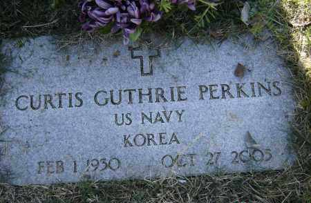 PERKINS (VETERAN KOR), CURTIS GUTHRIE - Lawrence County, Arkansas | CURTIS GUTHRIE PERKINS (VETERAN KOR) - Arkansas Gravestone Photos