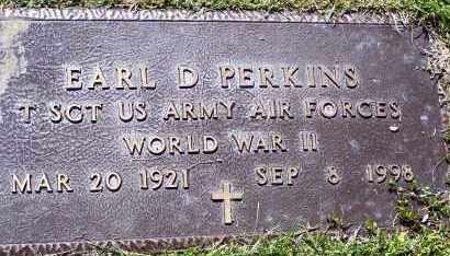 PERKINS (VETERAN WWII), EARL DEYLING - Lawrence County, Arkansas   EARL DEYLING PERKINS (VETERAN WWII) - Arkansas Gravestone Photos