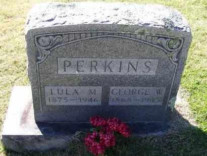 PERKINS, GEORGE W. - Lawrence County, Arkansas | GEORGE W. PERKINS - Arkansas Gravestone Photos