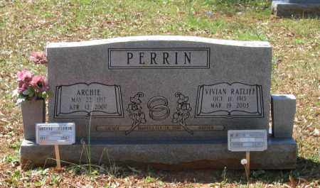 RATLIFF PERRIN, VIVIAN LUCILLE - Lawrence County, Arkansas | VIVIAN LUCILLE RATLIFF PERRIN - Arkansas Gravestone Photos