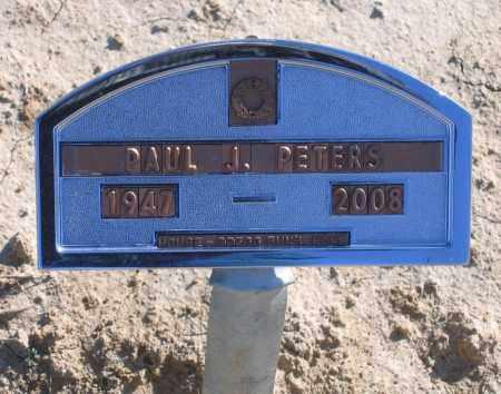 PETERS, PAUL J. - Lawrence County, Arkansas | PAUL J. PETERS - Arkansas Gravestone Photos