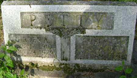 PETTY, THELMA - Lawrence County, Arkansas | THELMA PETTY - Arkansas Gravestone Photos