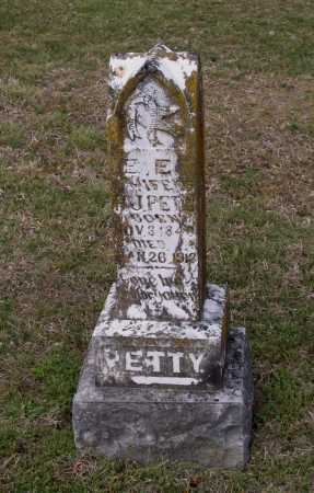 "PETTY, EVELINE E. ""E. E."" - Lawrence County, Arkansas | EVELINE E. ""E. E."" PETTY - Arkansas Gravestone Photos"