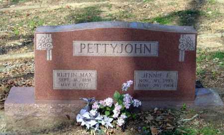 "FREEMAN PETTYJOHN, VIRGINIA E. ""JENNIE"" - Lawrence County, Arkansas   VIRGINIA E. ""JENNIE"" FREEMAN PETTYJOHN - Arkansas Gravestone Photos"