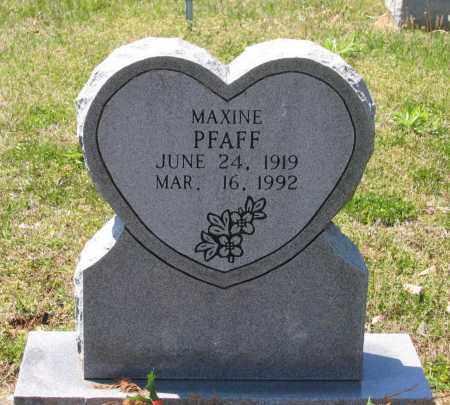 PFAFF, FRANCES MAXINE - Lawrence County, Arkansas   FRANCES MAXINE PFAFF - Arkansas Gravestone Photos