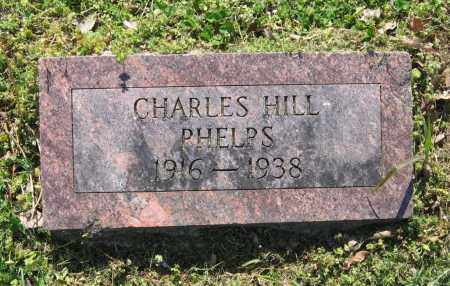 PHELPS, CHARLES HILL - Lawrence County, Arkansas | CHARLES HILL PHELPS - Arkansas Gravestone Photos
