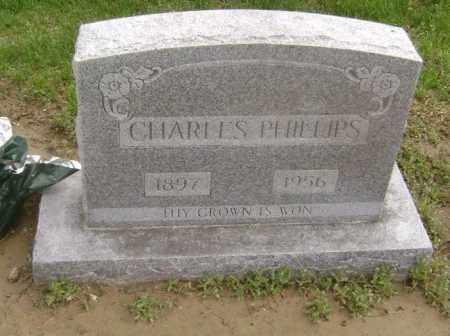 PHILLIPS, CHARLES - Lawrence County, Arkansas | CHARLES PHILLIPS - Arkansas Gravestone Photos
