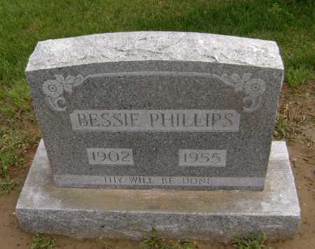PHILLIPS, BESSIE - Lawrence County, Arkansas | BESSIE PHILLIPS - Arkansas Gravestone Photos