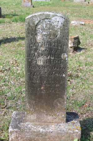 PHILLIPS, CATHALEEN - Lawrence County, Arkansas | CATHALEEN PHILLIPS - Arkansas Gravestone Photos